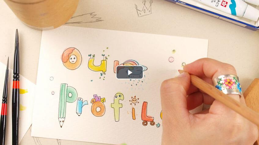 プロフィールムービー「SketchNotes」