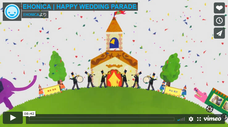HAPPY WEDDING PARADE