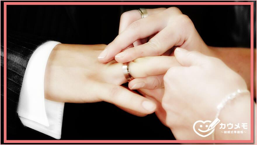 結婚指輪とは 意味 説明
