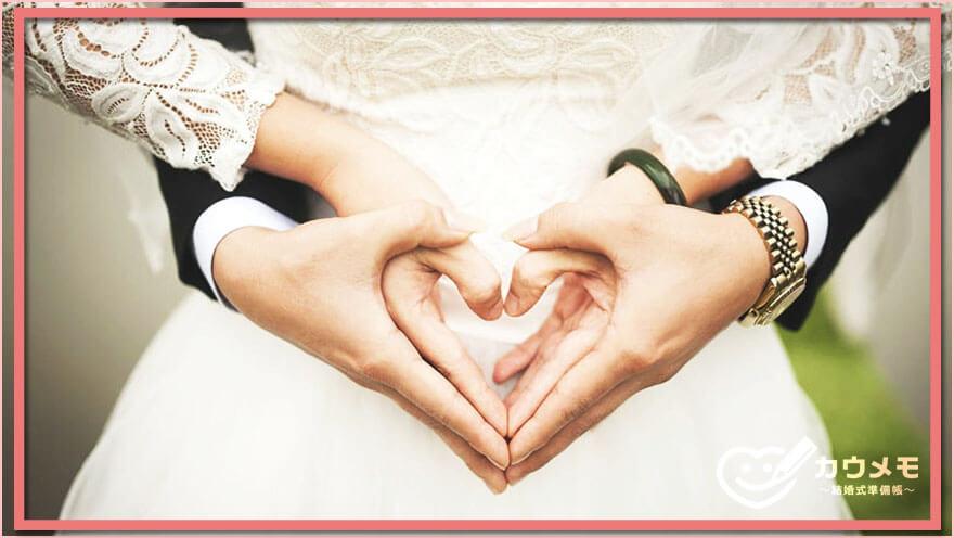 結婚報告 友人 知人 手順